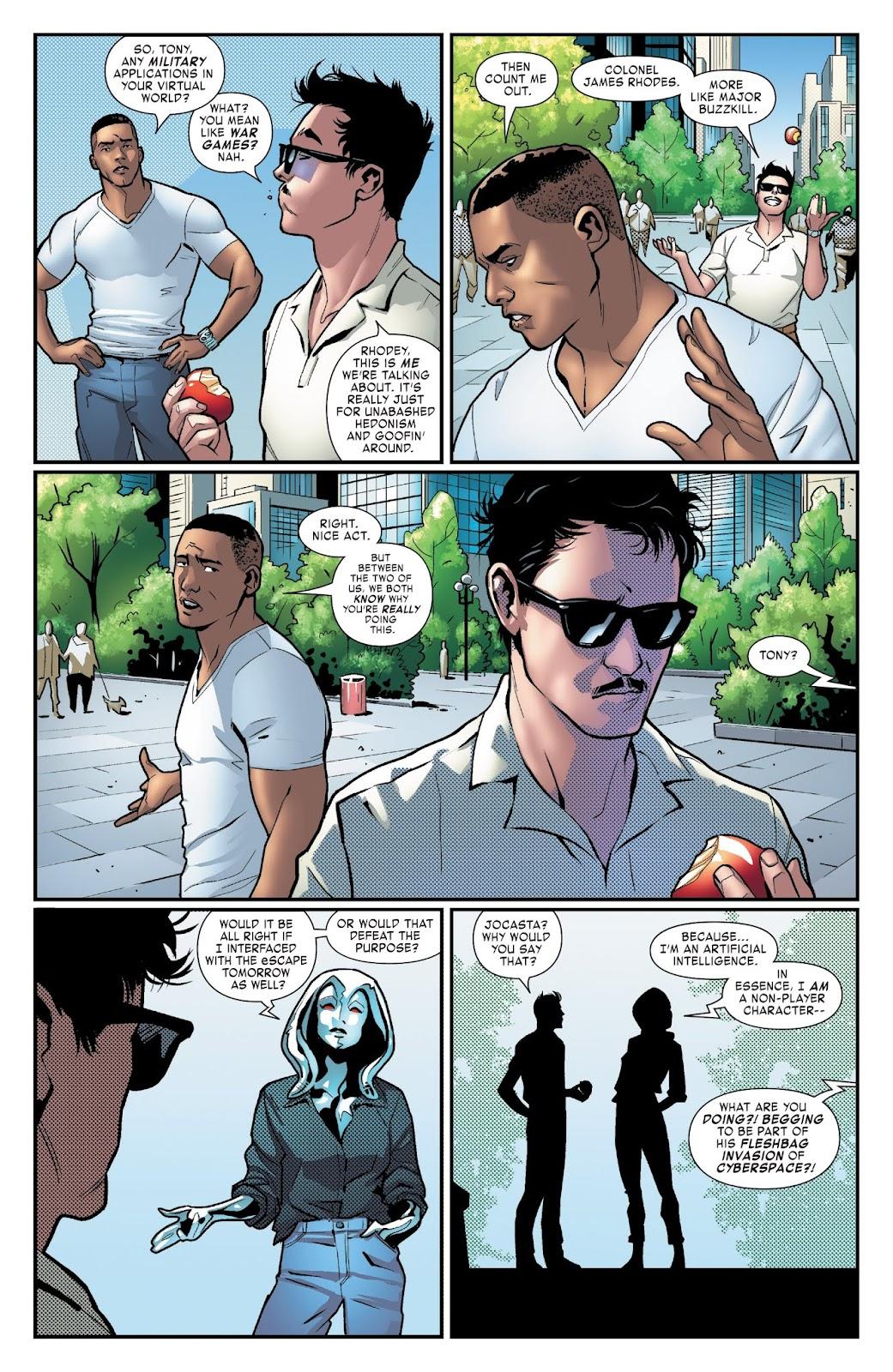 Read online Tony Stark: Iron Man comic -  Issue #3 - 7