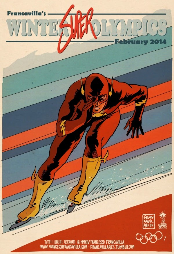 05-The-Flash-Speed-Skating-Francesco-Francavilla-Winter-Superhero-Olympics-www-designstack-co