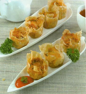Resep Dumpling Goreng Isi Udang