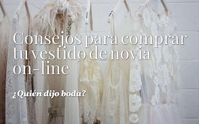 Consejos para comprar tu vestido de novia on-line