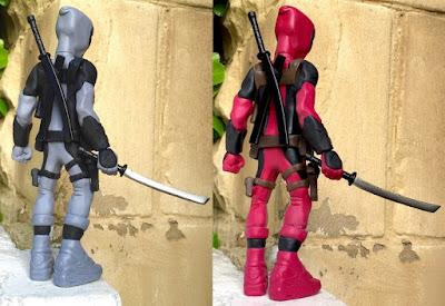 Deadpool Marvel Resin Figure by WheresChappell