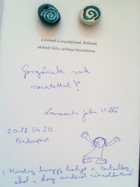 25. Budapesti Nemzetközi Könyvfesztivál, Gyerek(b)irodalom, Könyvmolyképző, Lovranits Júlia Villő dedikálása
