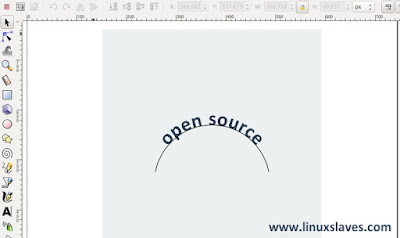 How to Curve Text in Inkscape Easily