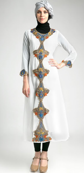 Model Baju Kebaya Muslim Kaftan Untuk Ibu Hamil