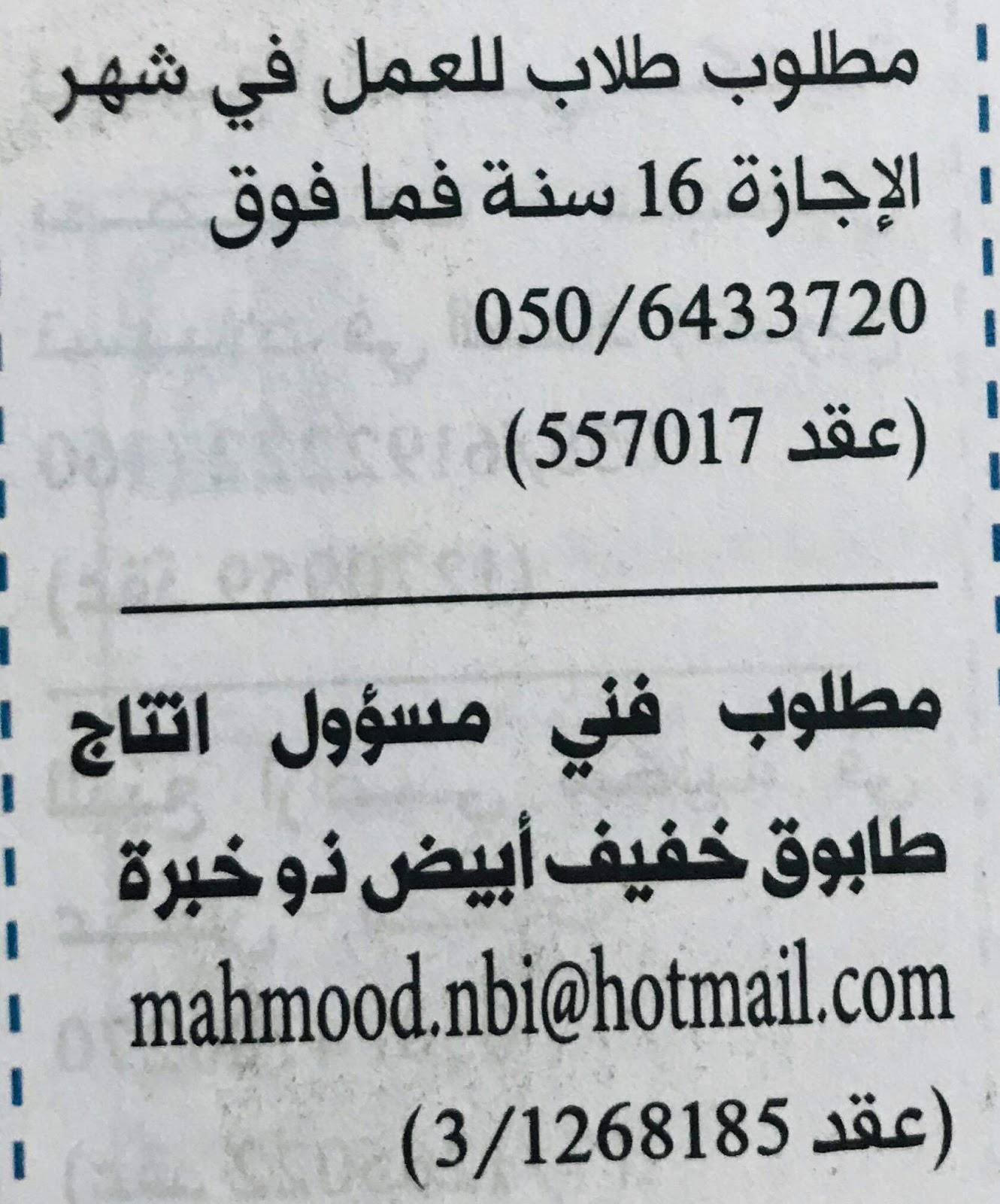 وظائف دليل الاتحاد باللغة العربية