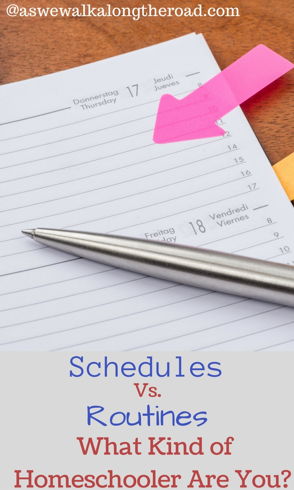Homeschool schedules and routines