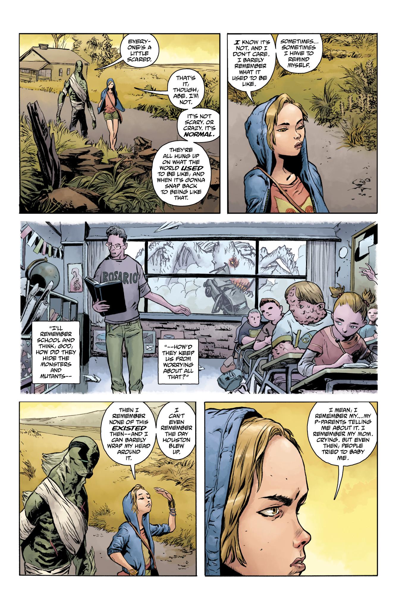 Read online Abe Sapien comic -  Issue #20 - 7