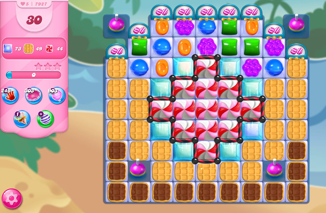 Candy Crush Saga level 7927