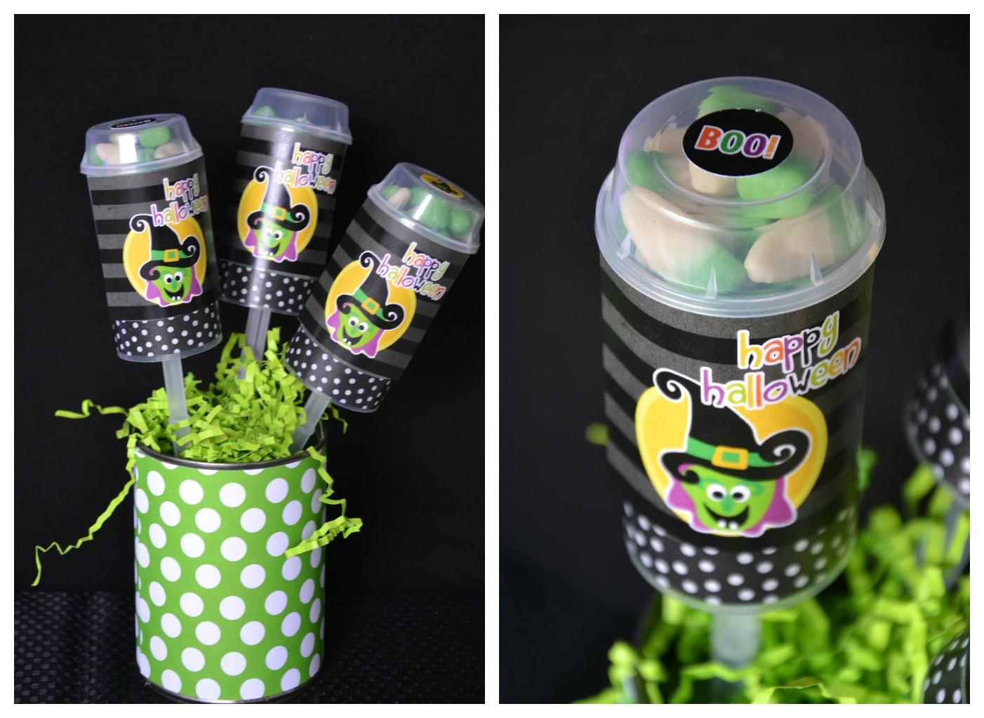 Halloween PushUp Pops Halloween Crafts Using Jars