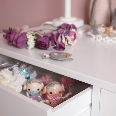 There's also space for the desk to double up as a dressing table with two drawers to house trinkets in