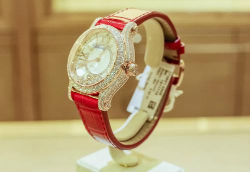 chiêm ngưỡng chiếc đồng hồ chopard giá 1,5 tỷ