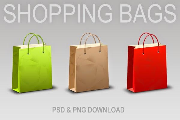 Shopping Bag PSD