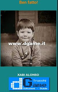 Soluzioni Guess the child footballer livello 44
