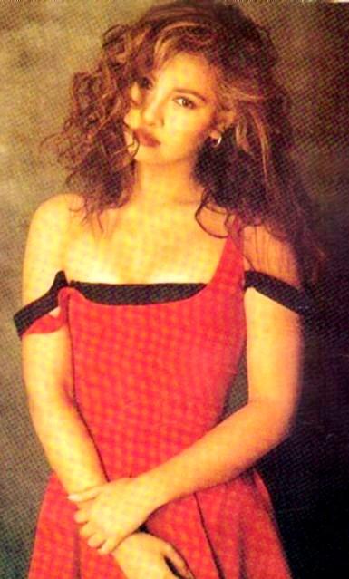 Foto de Miriam Hernández con cabello ondulado