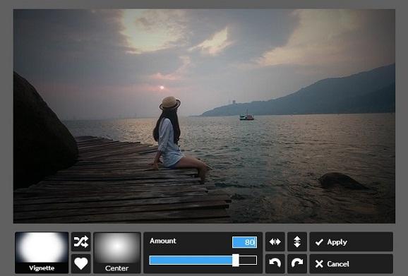 Menambahkan Efek Vignette Foto