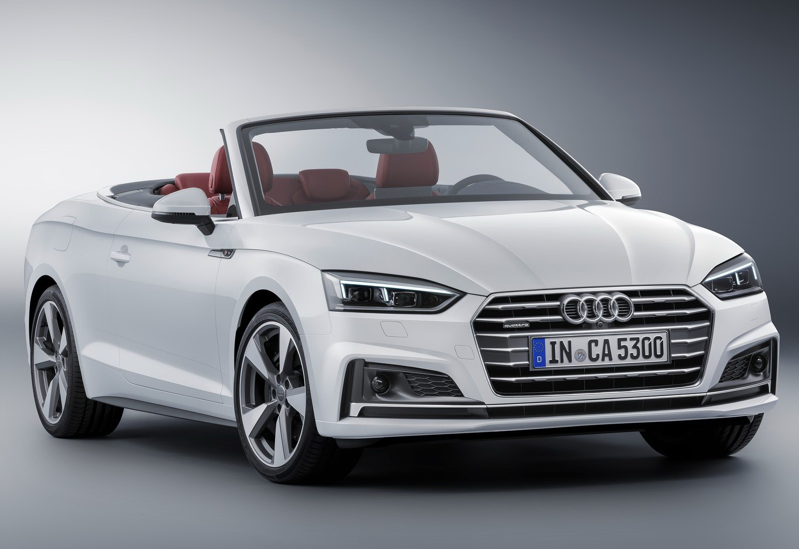 audi s new 2018 a5 cabriolet is predictably familiar. Black Bedroom Furniture Sets. Home Design Ideas