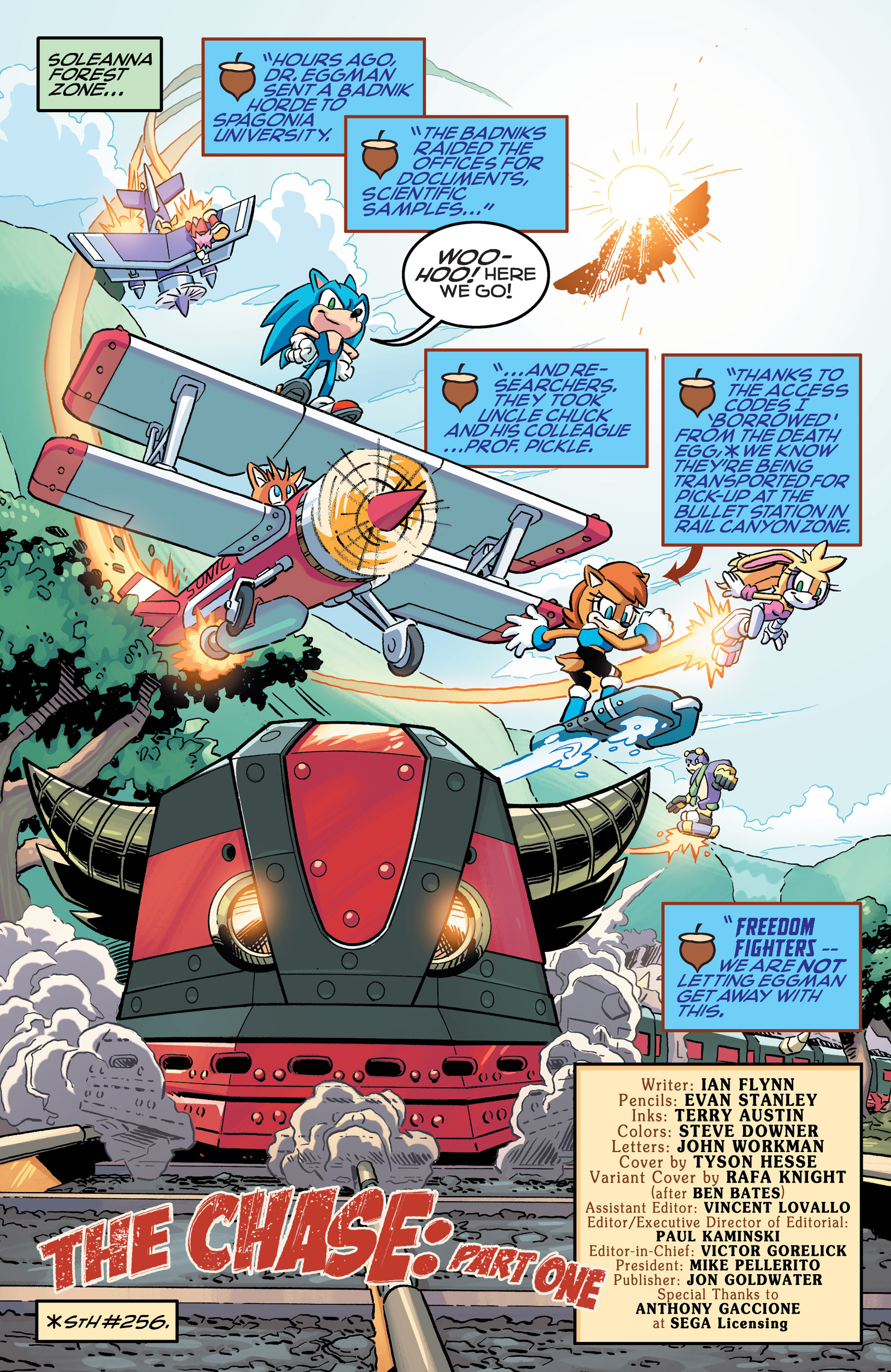Read online Sonic The Hedgehog comic -  Issue #258 - 4