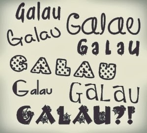 status kata galau