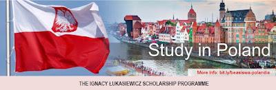 beasiswa penuh s2 dan s3 di polandia ignacy lukasiewicz scholarship