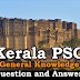 Kerala PSC General Knowledge Question and Answers - 72