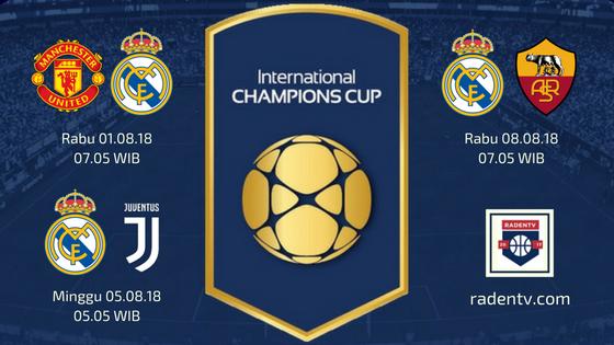 Jadwal Real Madrid ICC 2018