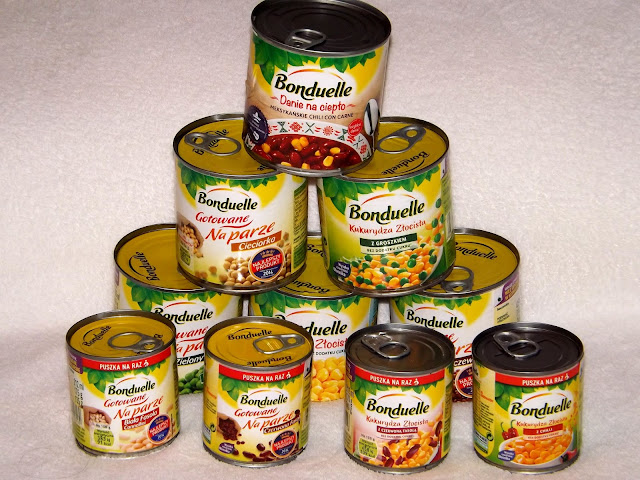 Produkty Bonduelle.