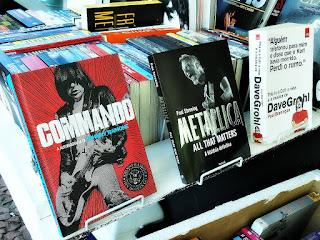 Biografias de Ramones, Metallica e Foo Fighters na Feira do Livro de Porto Alegre