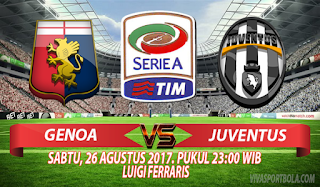 Prediksi Genoa vs Juventus 26 Agustus 2017