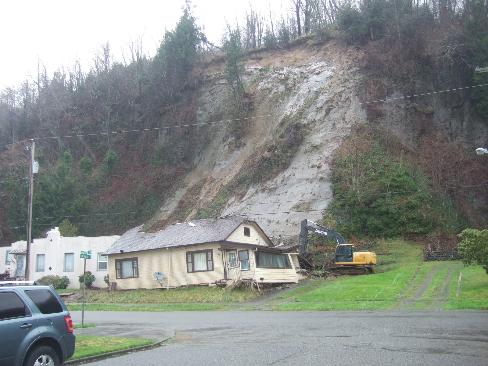Reading The Washington Landscape Hoquiam Landslides January 2015