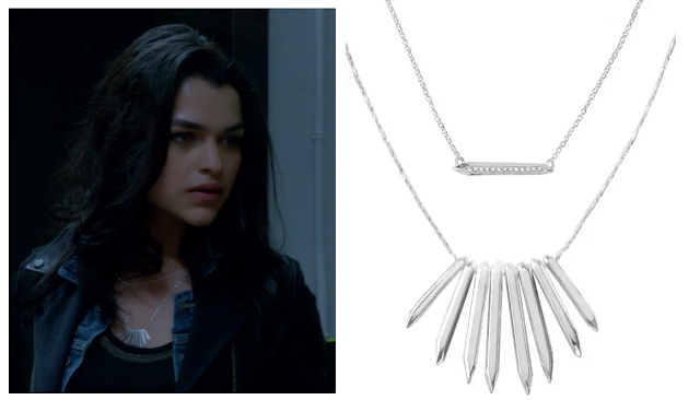 Stella & Dot Rebel Cluster Necklaces as seen on NBC's Heroes Reborn