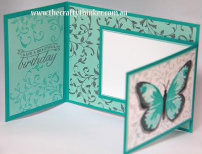 SU, watercolour wings, joy fold, fun fold, botanical builder, First sight