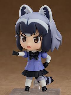 "Nendoroid Common Raccoon de la serie ""Kemono Friends"" - Good Smile Company"