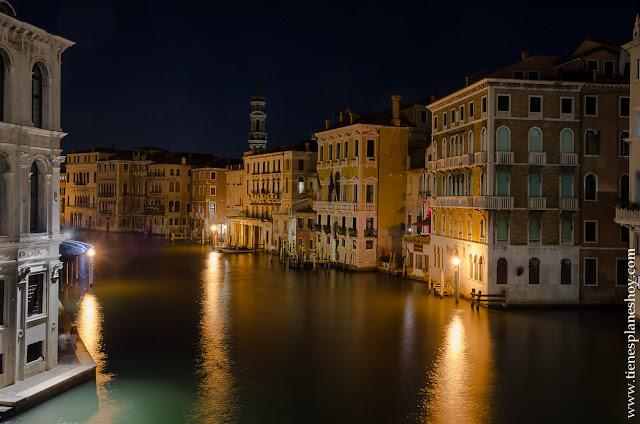 Venecia de noche visitar Italia viaje