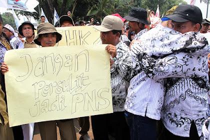 Aksi Demo 222 Di Depan Istana Akan Kerahkan 10 Ribu Massa Honorer K2