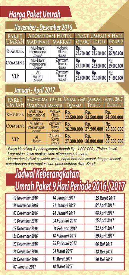 Paket Umroh 2016 Travel Alhijaz Indowisata