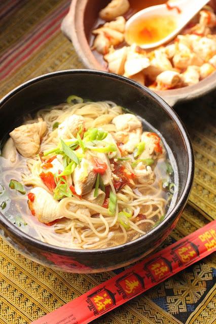 soupe nouille poulet chine