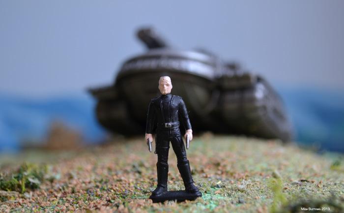 captain mini tank