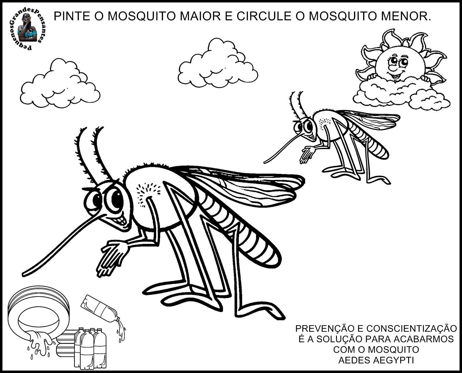 Excepcional Pequenos Grandes Pensantes.: Atividades Zika Virus, Chinkugunya e  PT51