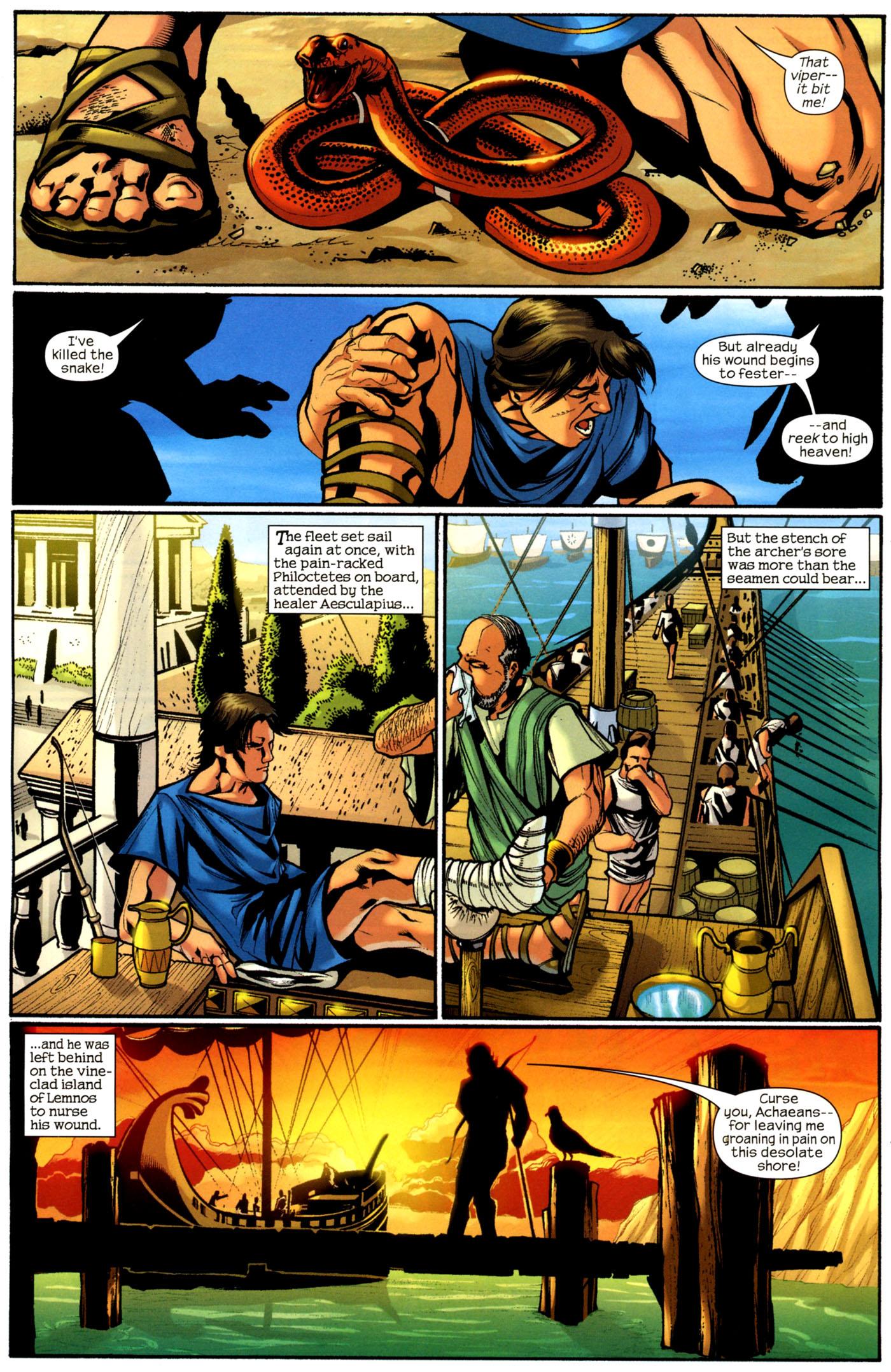 Read online Trojan War comic -  Issue #2 - 11