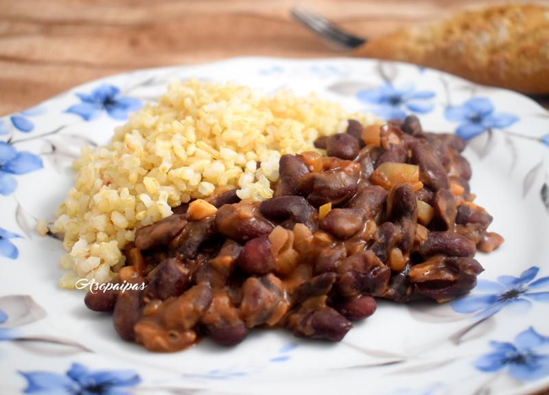 Jud as pintas con arroz v deo receta asopaipas recetas de cocina casera - Arroz con judias pintas ...