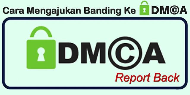 Cara Mengajukan Banding Claim Hak Cipta Ke DMCA