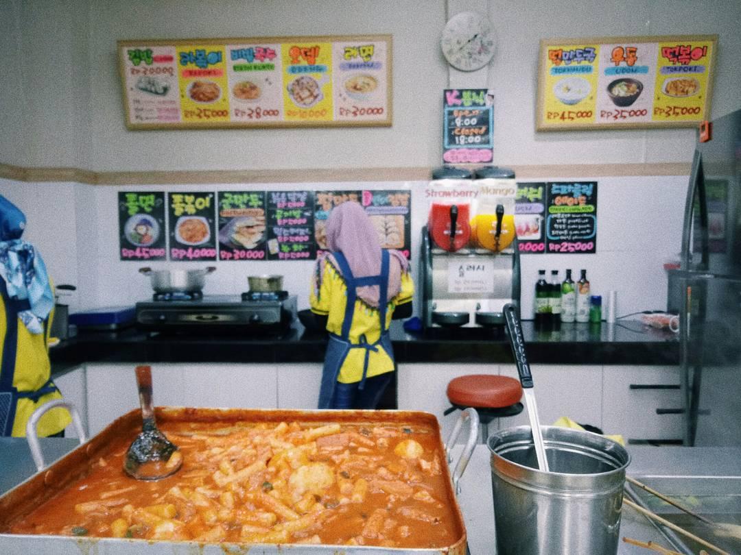 street food Korea, KMart Jakarta