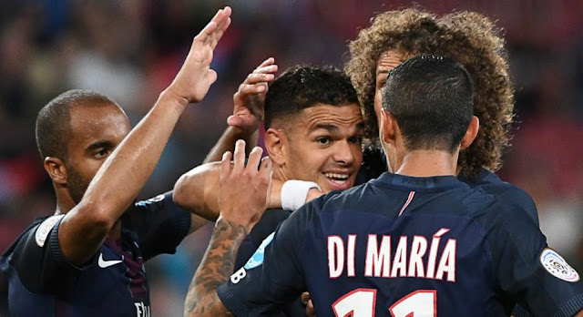 Hatem Ben Arfa et les Parisiens s'imposent 4-1 contre Lyon