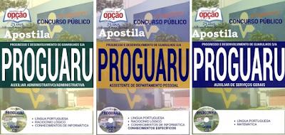Apostila Concurso Proguaru de Guarulho (SP) Progresso e Desenvolvimento de Guarulhos (Proguaru)