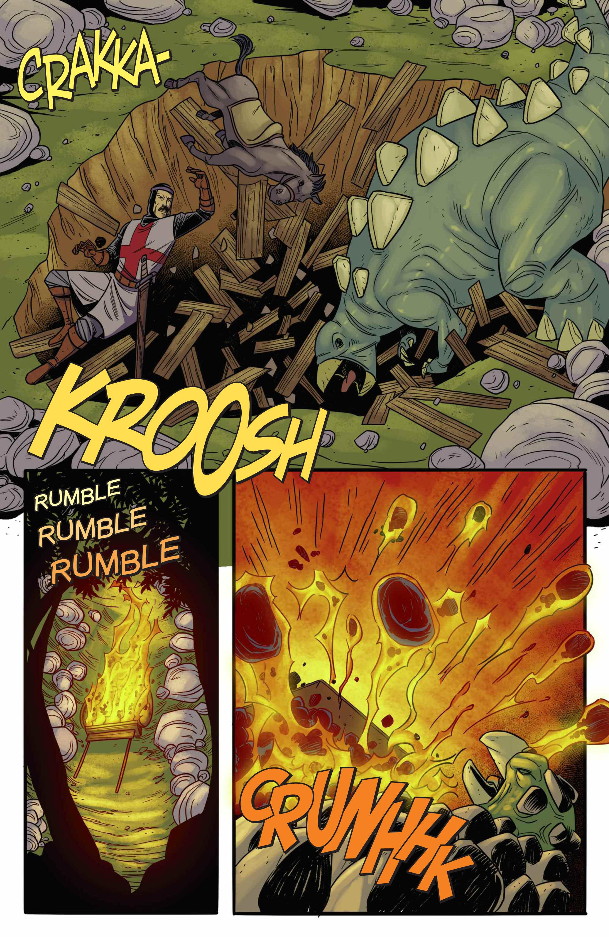 Read online Turok: Dinosaur Hunter (2014) comic -  Issue # _TPB 3 - 83