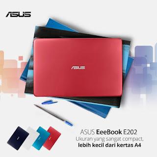 Varian warna ASUS E202