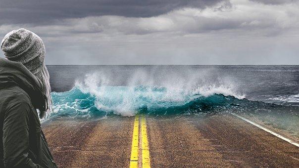Foto gambar dampak pemanasan global