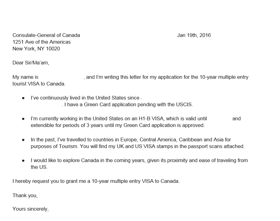 cover letter for pr application canada