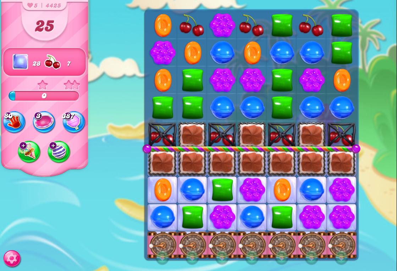 Candy Crush Saga level 4425