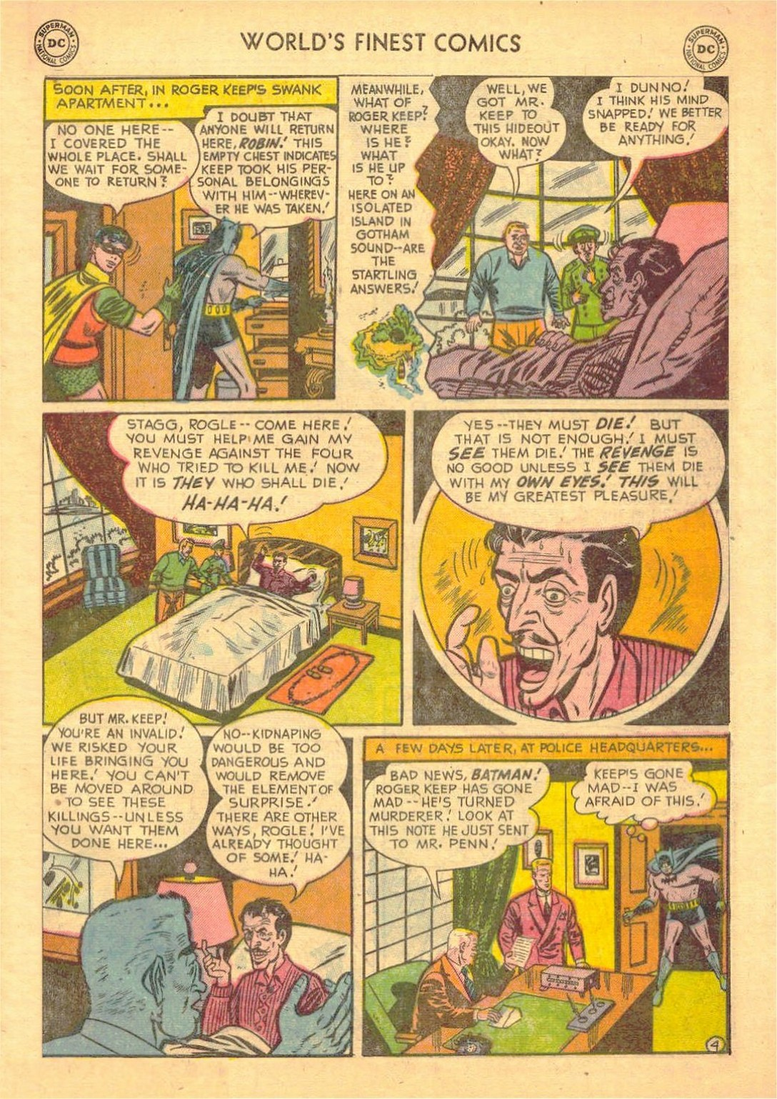 Read online World's Finest Comics comic -  Issue #58 - 57